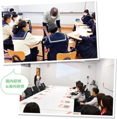 主にライティング、スピーキング、またプレゼンテーションを学ぶ授業