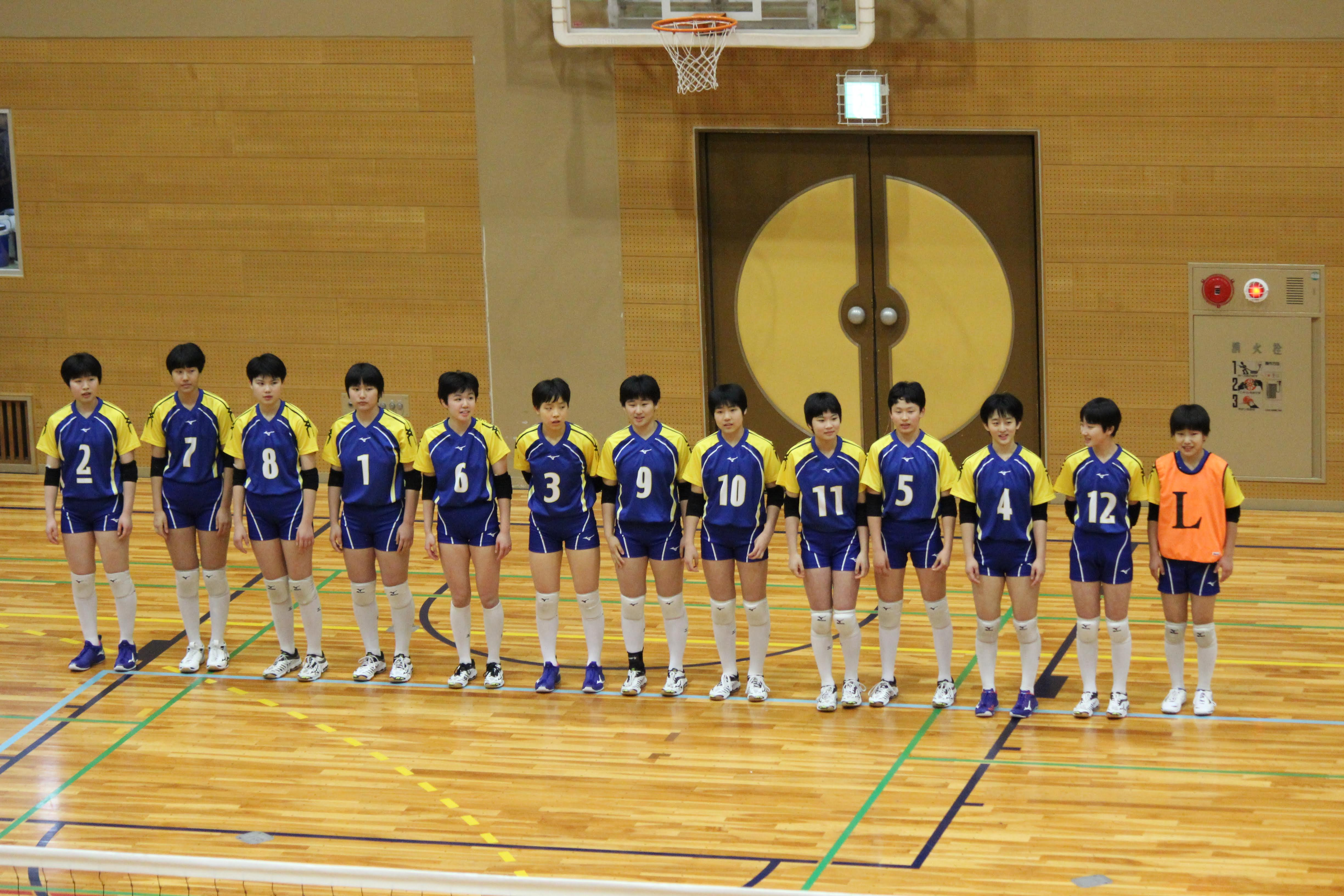 会 バレー 金蘭 中学校